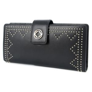 NWT KeriKit England Tilly Wallet (blk leather)